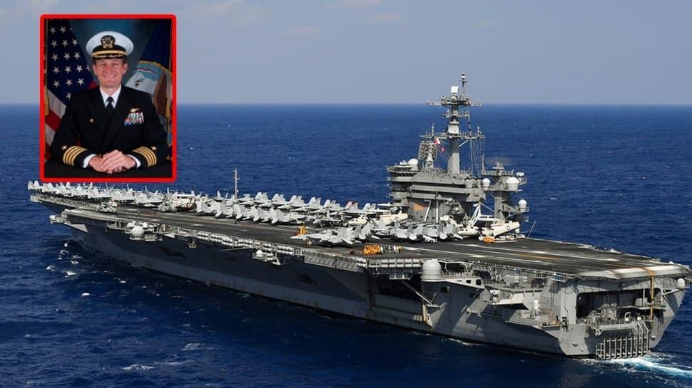 Gemide koronavirüs vakaları ortaya çıkmıştı... ABD'nin Roosevelt Uçak Gemisi kaptanına ihanet suçlaması