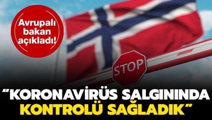 Avrupalı bakan duyurdu: Koronavirüs salgınında kontrolü sağladık