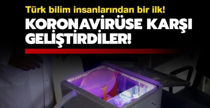 Türk bilim insanlarından bir ilk! Koronavirüse karşı geliştirdiler