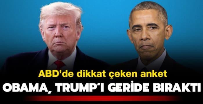 ABD'de dikkat çeken koronavirüs anketi: Obama, Trump'ı geride bıraktı