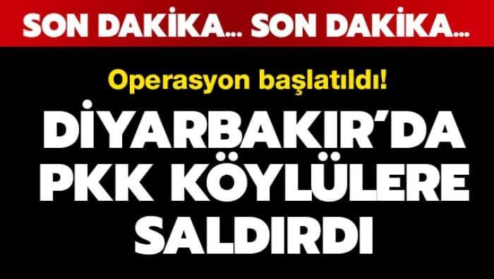 PKK, Kulp'ta köylülere saldırdı