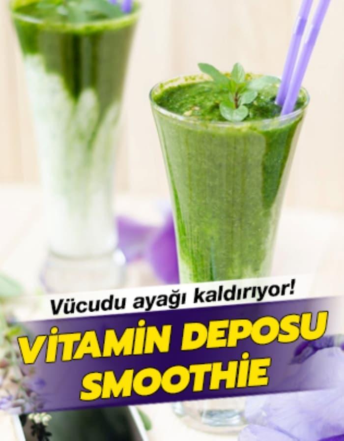 Herkes bu vitamin deposunu içiyor!