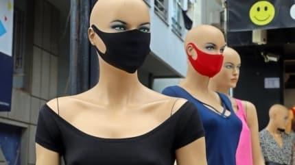 Vitrinlerdeki maske modası sizi yanıltmasın