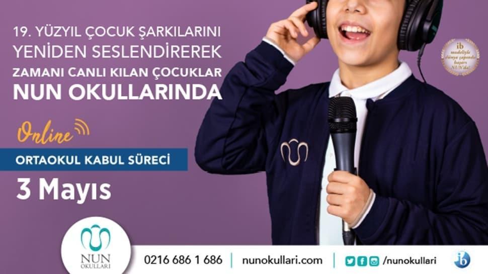 NUN Okulları Online Kabul Süreci 2-3 Mayıs'ta!