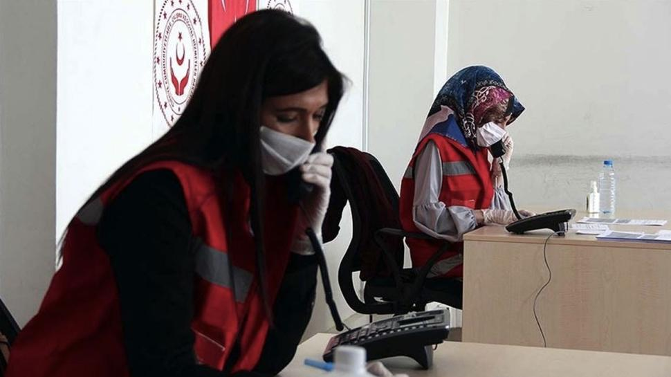 Sağlık Bakanlığı'nın 1 ay önce kurduğu Kovid-19 Psikososyal Destek Hattı'na çağrılar yapdu