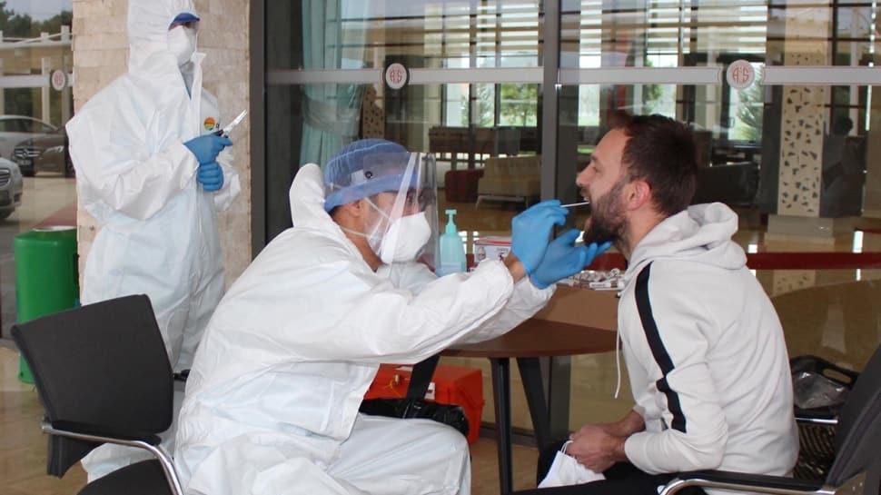 Antalyaspor'a yapılan tüm koronavirüs testleri negatif çıktı