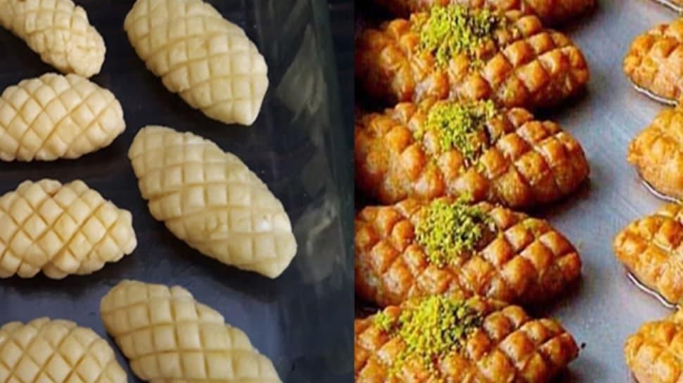 Geleneksel ev tatlısı: Kalburabastı tarifi  Kalburabastının yapılışı ve malzemeleri