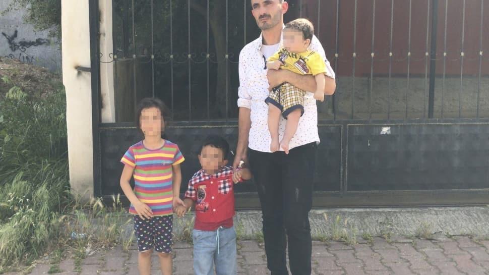 Adana'da 6 aylık bebeği ve 2 çocuğunu terk eden kadının eşi polisten yardım istedi