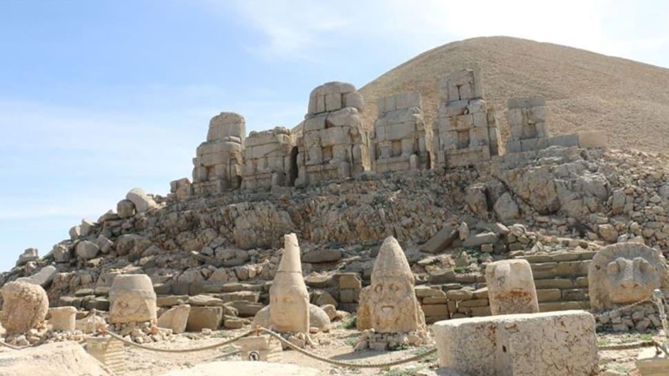 UNESCO Dünya Miras Listesi'ndeki Nemrut Dağı'nda Kovid-19 sessizliği
