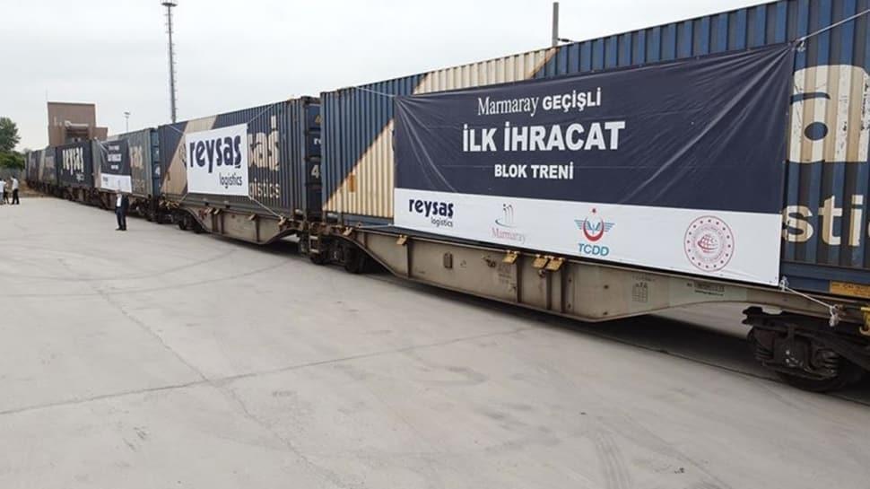 Marmaray geçiþli ilk ihracat blok treni Sakarya'dan yola çýkýyor