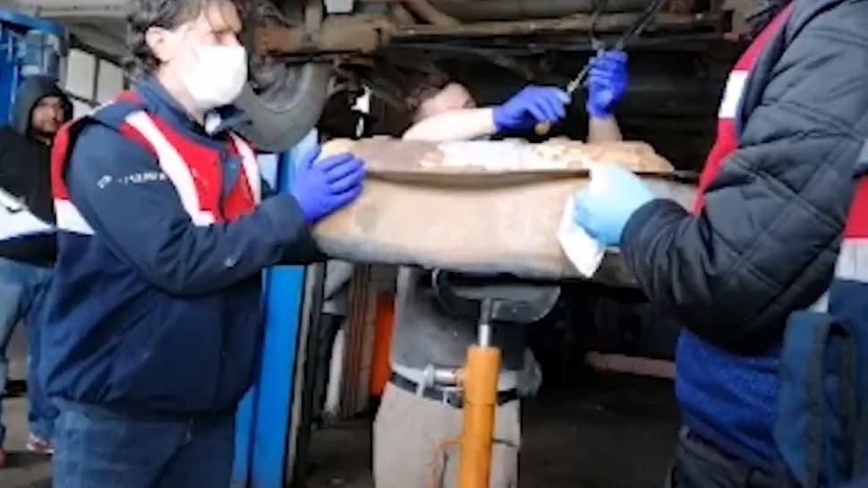 Bolu'da 144 litre sıvı metamfetamin maddesi ele geçirildi