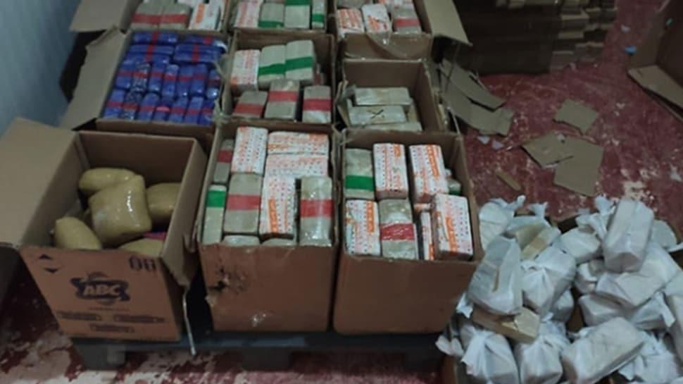 Piyasa deðeri 25 milyon lira! 355 kilo eroin ele geçirildi