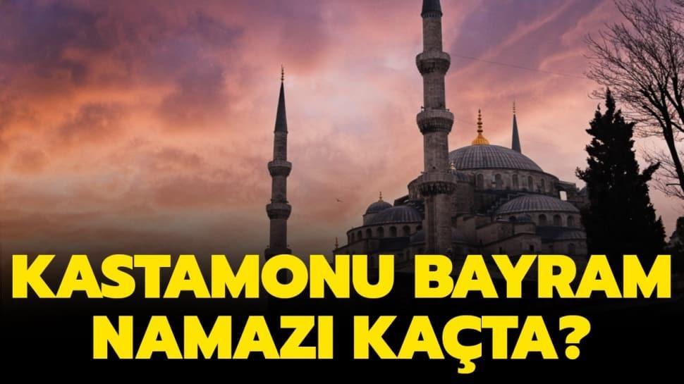 """Diyanet Kastamonu bayram namazı saat kaçta"""" İşte Kastamonu Ramazan Bayramı ve Duha namazı vakti 2020!"""