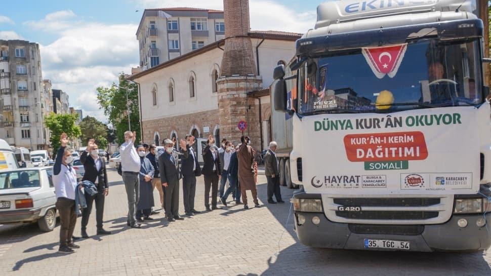 Bursa'dan Somalili Müslümanlara 30 bin Kur'an-ı Kerim gönderildi
