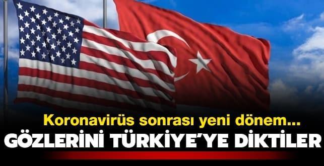 Koronavirüs sonrası yeni dönem... Gözlerini Türkiye'ye diktiler