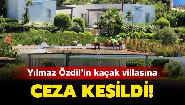 Yılmaz Özdil'in kaçak villasına ceza kesildi!