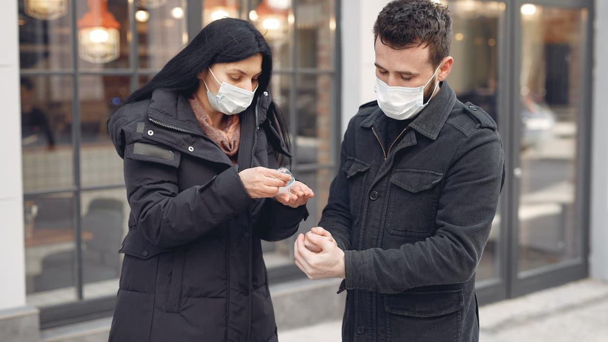 Alışverişten önce virüse karşı kişisel önlemler