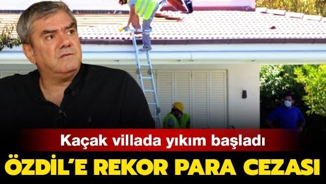 Yılmaz Özdil'in kaçak villasında yeni gelişme! Ve başladı!