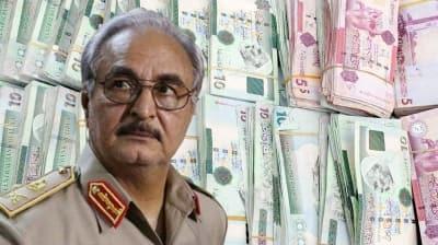 Rus kamu şirketi basmıştı... Darbeci Hafter'in sahte paraları yakalandı