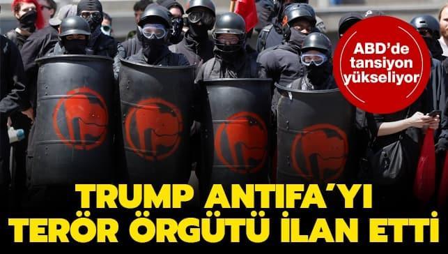 Trump, ANTIFA'yı 'terör örgütü' ilan etti