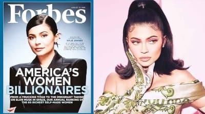 Forbes: Kylie Jenner'ın serveti kurmaca çıktı