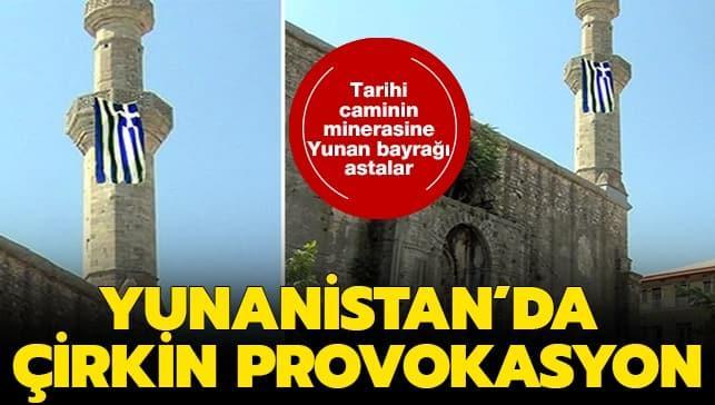 Yunanistan'da çirkin provokasyon!