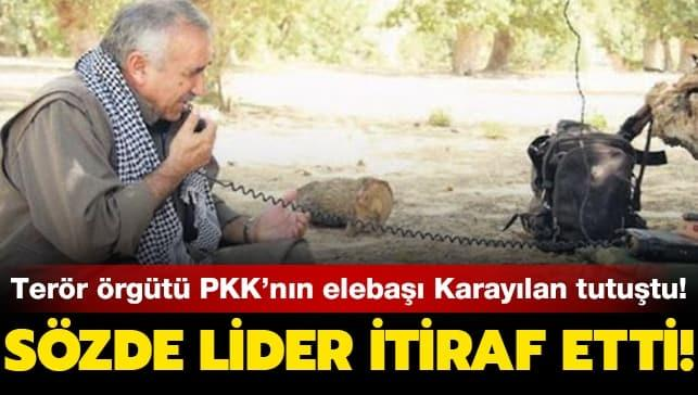 Terör örgütü PKK'nın elebaşı Karayılan tutuştu... Sözde lider itiraf etti!