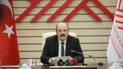 YÖK Başkanı Saraç'tan önemli açıklama... 'Yüzde 40'a yükseltildi'
