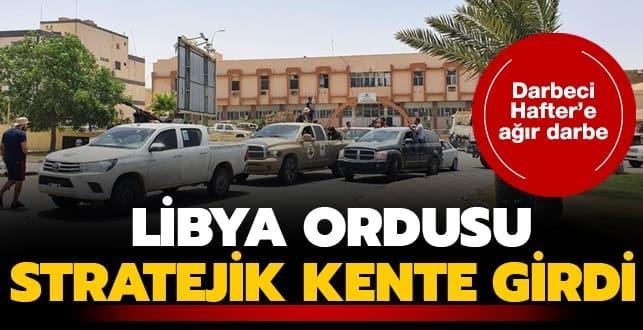Libya ordusu Sirte kentinde kontrolü sağladı!