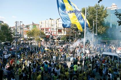 Taksim'de tehlikeli gerilim