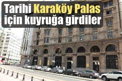 Haliç manzaralı Karaköy Palas için butik otel markaları kuyruğa girdi